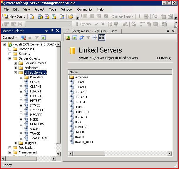 LinkedServer